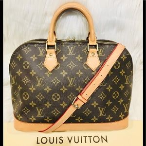Authentic Louis Vuitton Alma #4.6ahj